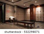 interior of a locker changing...   Shutterstock . vector #532298071