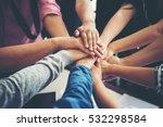 teamwork togetherness... | Shutterstock . vector #532298584