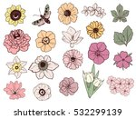 flower set | Shutterstock .eps vector #532299139