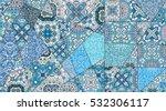 vector patchwork pattern....   Shutterstock .eps vector #532306117
