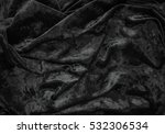 black cloth texture and... | Shutterstock . vector #532306534