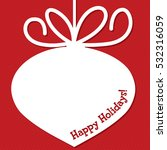 funky christmas bauble tag in...   Shutterstock .eps vector #532316059