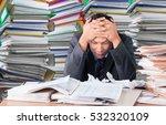 emotional stress. | Shutterstock . vector #532320109