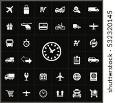 time icon. delivery icons... | Shutterstock . vector #532320145