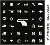 helicopter icon. delivery icons ... | Shutterstock . vector #532320685