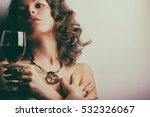 portrait of beautiful woman... | Shutterstock . vector #532326067