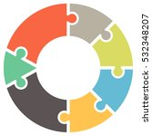 infographics. vector diagram.... | Shutterstock .eps vector #532348207