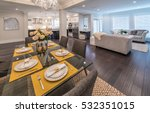 nicely decorated and served... | Shutterstock . vector #532351015