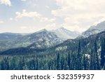 Mountain Peaks   Rocky Mountain ...