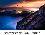 mt thielsen at sunrise crater... | Shutterstock . vector #532370815