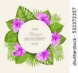 illustration vintage card with... | Shutterstock . vector #532372357