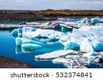northern nature. the concept of ... | Shutterstock . vector #532374841