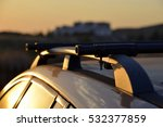 roof rack on estate car | Shutterstock . vector #532377859