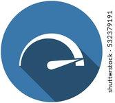 speedometer icon vector flat...   Shutterstock .eps vector #532379191