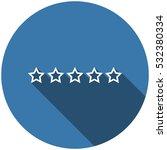 star icon vector flat design...