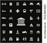 bank icon. city icons universal ... | Shutterstock . vector #532385485