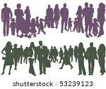 illustration of people... | Shutterstock .eps vector #53239123