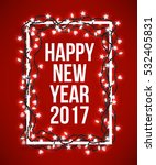 happy new year poster with... | Shutterstock .eps vector #532405831