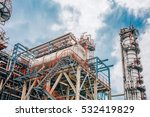 industrial zone the equipment... | Shutterstock . vector #532419829