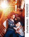 love portrait of an... | Shutterstock . vector #532420015