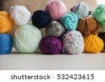 Multi Colored Yarn For Knittin...