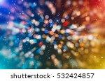 glittering shine bulbs lights... | Shutterstock . vector #532424857
