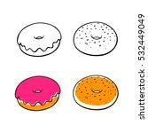 donut | Shutterstock .eps vector #532449049