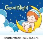 vector illustration of cartoon... | Shutterstock .eps vector #532466671