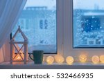 Winter Decor With Candles And...
