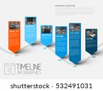 colorful infographic... | Shutterstock .eps vector #532491031