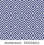 seamless blue tiles. | Shutterstock .eps vector #532526611