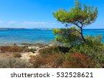 aegean sea coast landscape ... | Shutterstock . vector #532528621