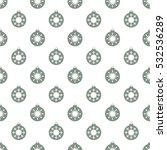 christmas snowflakes seamless... | Shutterstock .eps vector #532536289