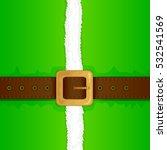 christmas background of green...   Shutterstock .eps vector #532541569