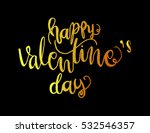 happy valentine's day... | Shutterstock .eps vector #532546357