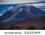 Small photo of Bolivian altiplano volcano