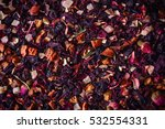 mix tea with dried fruits and... | Shutterstock . vector #532554331