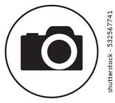 camera icon | Shutterstock . vector #532567741