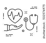 health care vector icon | Shutterstock .eps vector #532576975