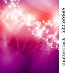 colourful glowing christmas... | Shutterstock .eps vector #532589869