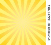 vector background with sun rays | Shutterstock .eps vector #532597861