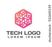 technology logo. technology... | Shutterstock .eps vector #532600159
