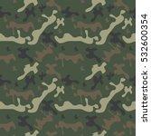 seamless pattern camo  classic... | Shutterstock .eps vector #532600354