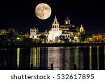 Night Landscape Of El Rocio...