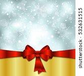 elegant christmas background...   Shutterstock .eps vector #532631515