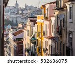 architecture in the old town of ... | Shutterstock . vector #532636075