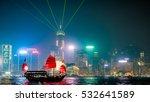 The Night Tower Show In Hongkong