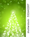 abstract christmas tree by... | Shutterstock .eps vector #532642207