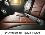 car back seats with sinset in... | Shutterstock . vector #532644205