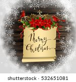 christmas background with tree | Shutterstock .eps vector #532651081